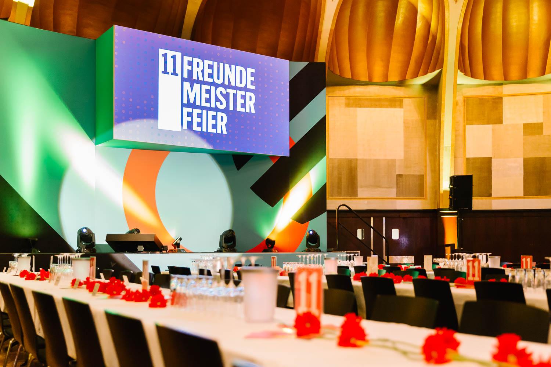 11Freunde Meisterfeier 2016, Rheingoldsaal Duesseldorf