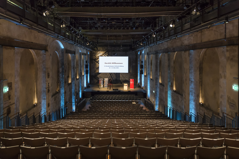 13.Bundeskongress Politische Bildung, Theatersaal