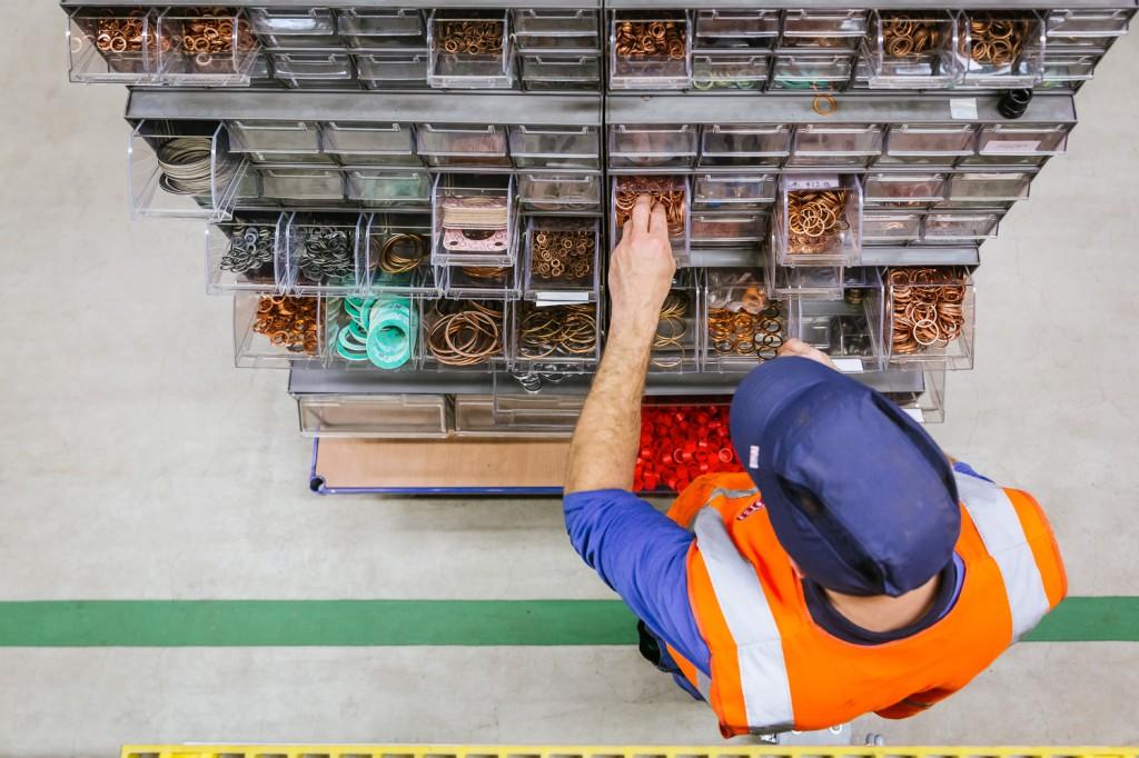 Vareo Werk Werkstattkasten Aufsicht
