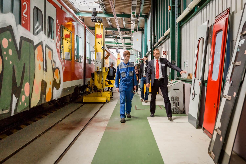 DB Regio NRW Fahrzeugvorstellung in Essen