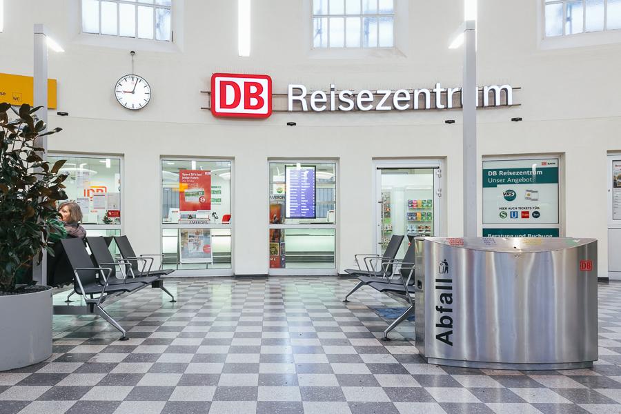 DB Deutz Empfangshalle