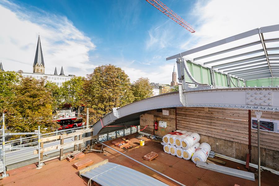 Bonn HBF Dach oben